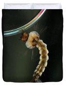 Mosquito Larva Duvet Cover