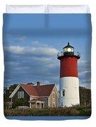 Nauset Lighthouse Duvet Cover