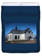 Norwegian Church Cardiff Bay Duvet Cover