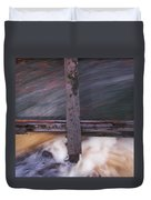 Old Mill Canal Duvet Cover