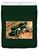 Pasco Poison Frog Duvet Cover