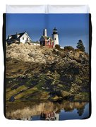 Pemaquid Point Lighthouse Duvet Cover
