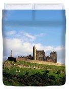 Rock Of Cashel, Co Tipperary, Ireland Duvet Cover