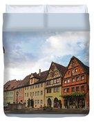 Rothenburg Medieval Old Town  Duvet Cover