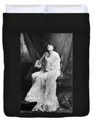 Sarah Bernhardt (1844-1923) Duvet Cover