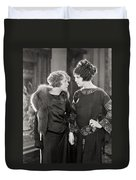 Silent Film Still: Women Duvet Cover