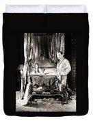 Silent Still: Bedroom Duvet Cover