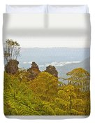 3 Sisters Blue Mountains Duvet Cover