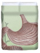 Stomach And Bile Duct Duvet Cover