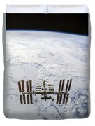 The International Space Station Duvet Cover