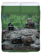 The Leopard 1a5 Main Battle Tank Duvet Cover
