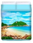 Tropical Lagoon Duvet Cover