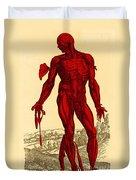 Vesalius De Humani Corporis Fabrica Duvet Cover by Science Source