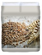 Wheat Ears And Grain Duvet Cover