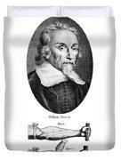 William Harvey, English Physician Duvet Cover