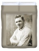 George H. Ruth (1895-1948) Duvet Cover
