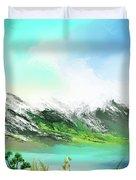 30 Minute Landscape Duvet Cover