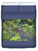 31- Alligator Hatchling Duvet Cover