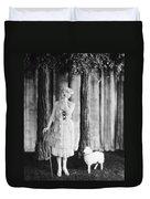 Silent Film Still Duvet Cover