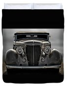 '36 Ford Convertible Coupe Duvet Cover