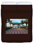 36- Palm Beach Inlet Duvet Cover
