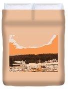 Norway  Landscape Duvet Cover