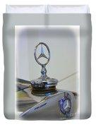 39 Mercedes-benz Emblem Duvet Cover
