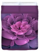 3d Flower Duvet Cover by John Edwards