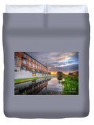 3m Building Sunrise Duvet Cover