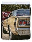 1968 Dodge Coronet Rt Duvet Cover