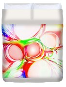Abstract Of Circle  Duvet Cover
