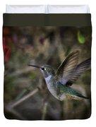 Anna's Hummingbird  Duvet Cover