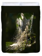 Bird-cherry Ermine Caterpillars Duvet Cover