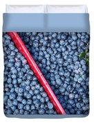 Blueberry Harvest Duvet Cover