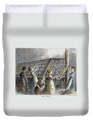 Child Labor, 1873 Duvet Cover