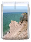 Coastal Erosion Duvet Cover