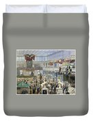 Crystal Palace, 1851 Duvet Cover