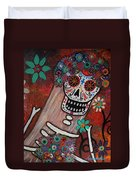 day of the dead BRIDE Duvet Cover