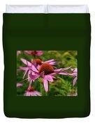 Eastern Purple Coneflower Duvet Cover