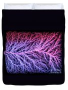 Electrical Discharge Lichtenberg Figure Duvet Cover