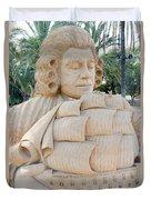 Fairytale Sand Sculpture  Duvet Cover