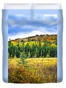Fall Forest Duvet Cover