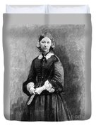 Florence Nightingale, English Nurse Duvet Cover