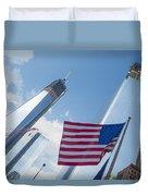 Ground Zero Freedom Tower Duvet Cover