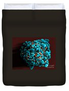 Hiv-infected H9 T Cell, Sem Duvet Cover