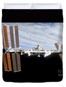 International Space Station Duvet Cover