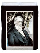 James Buchanan, 15th American President Duvet Cover