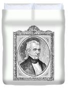 James K. Polk (1795-1849) Duvet Cover