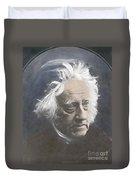 John Herschel, English Polymath Duvet Cover