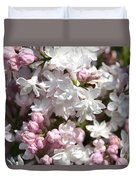 Lilac Named Beauty Of Moscow Duvet Cover